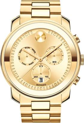 Movado Bold Metals Chronograph Bracelet Watch, 47mm