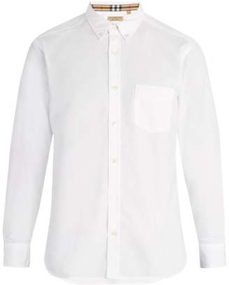 Burberry - Classic Cotton Oxford Shirt - Mens - White