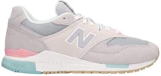 New Balance 840 Grey Suede Sneakers
