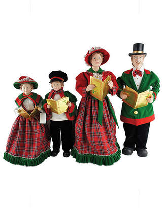 Asstd National Brand 20-27 Christmas Day Carolers- Set of 4