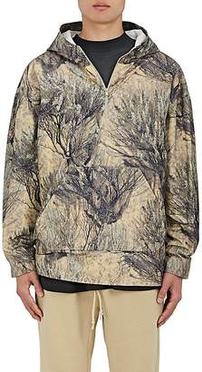 Yeezy Men's Woodland-Print Cotton Hoodie