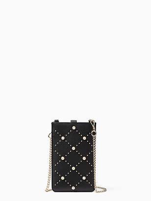 Kate Spade Pearl iphone sleeve crossbody
