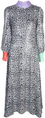 Olivia Rubin leopard print shift dress