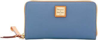 Dooney & Bourke Eva Braid Large Zip Around Wristlet