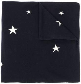 Parker Chinti & stars knitted scarf