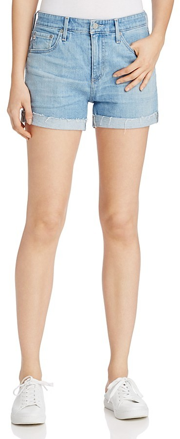 AG Jeans AG Hailey Rolled Cuff Denim Shorts