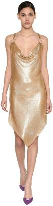 Giuseppe Di Morabito ASYMMETRICAL METAL MESH DRESS
