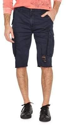 Buffalo David Bitton Distressed Cargo Shorts