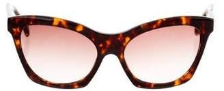 Derek Lam Chelsea Tortoiseshell Sunglasses