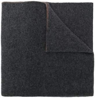 Dell'oglio two-tone scarf