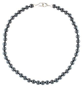 Tiffany & Co. Hematine Bead Necklace silver Hematine Bead Necklace