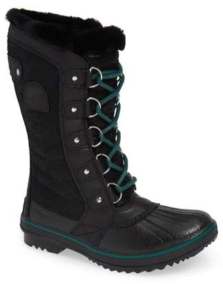 Sorel Tofino Faux Fur & Genuine Shearling Lined Waterproof Boot