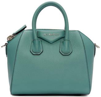 Givenchy Blue Mini Antigona Bag