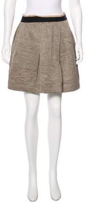 3.1 Phillip Lim Woven A-Line Skirt