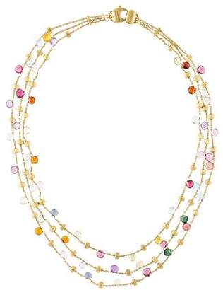 Marco Bicego 18K Jaipur Beads Multistrand Collar Necklace
