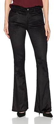 7 For All Mankind Women's Ali Flared Leg Jean in Velvet