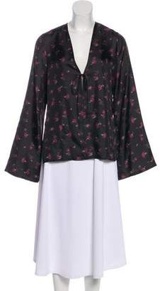 Elizabeth and James Floral Long Sleeve Top