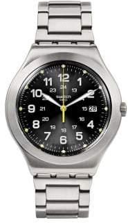 Swatch Happy Joe Lime Stainless Steel Bracelet Watch -YWS439G