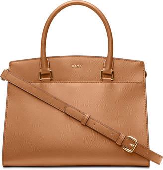 DKNY Leather Satchel, Created for Macy's
