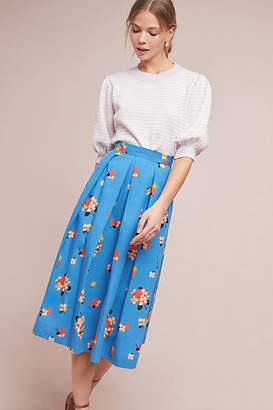Emily And Fin Alyssa Floral Midi Skirt
