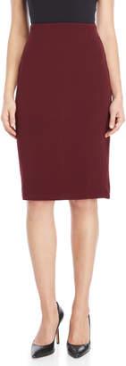 philosophy Ribbed Exposed Zip Skirt