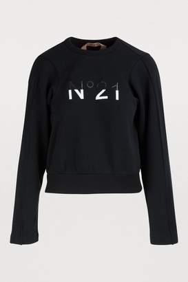 N°21 N 21 Logo sweatshirt