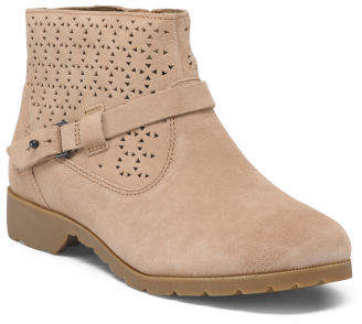 All Day Comfort Suede Booties