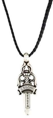 Chrome Hearts Large Dagger Pendant Necklace