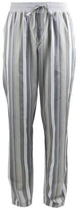 Hanro Cotton Striped Pyjama Bottoms