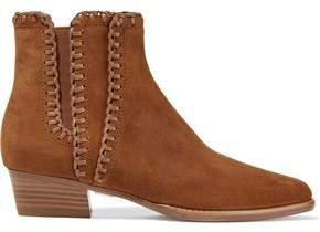 Michael Kors Presley Suede Ankle Boots