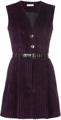 Altuzarra belted corduroy dress