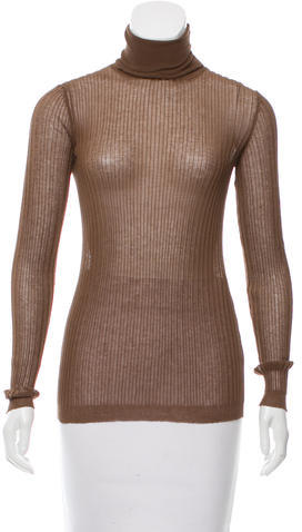 Marc Jacobs Marc Jacobs Sheer Turtleneck Top w/ Tags