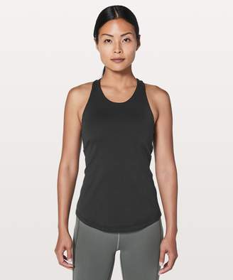 Lululemon Sweat Reps 2 In 1 Tank *Medium Support For C/D Cup