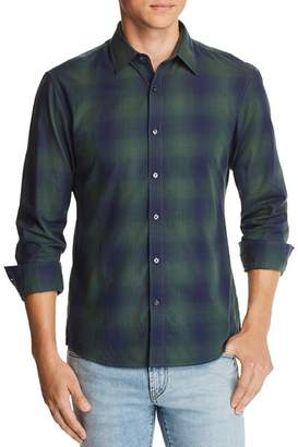 Michael Kors Ombré Plaid Slim Fit Shirt