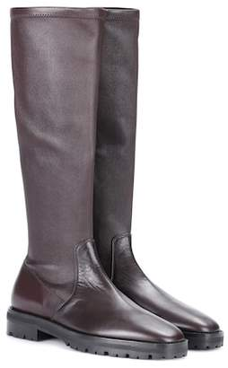 The Row Fiona leather boots