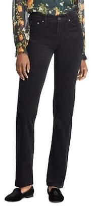 Ralph Lauren Straight-Leg Corduroy Jeans in Polo Black