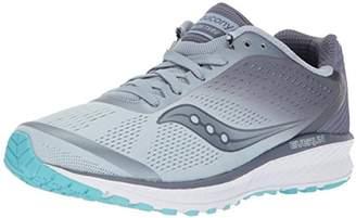 Saucony Women's Breakthru 4 Running Shoes, Fog/Grey/Blue