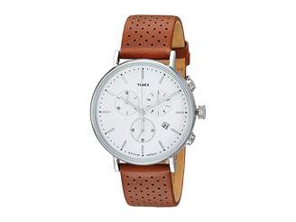 Timex Fairfield Chrono Leather