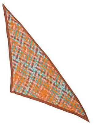 Hermes Bolduc Au Carre Silk Triangle Scarf