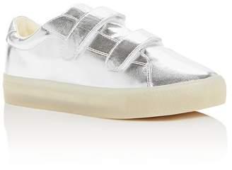 POP SHOES Unisex St. Laurent Metallic Light-Up Sneakers - Toddler, Little Kid, Big Kid