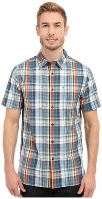 The North Face Short Sleeve Solar Plaid Shirt Men's Clothing