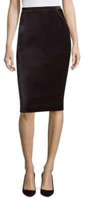 Elie Tahari Harla Velvet Skirt