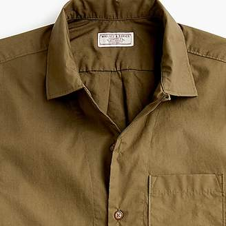 J.Crew Wallace & Barnes short-sleeve three-pocket shirt