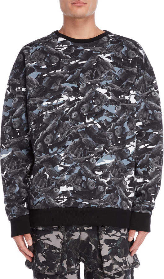 This Is Not Clothing Birds of Paradise Camo Sweater