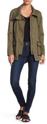 Veronica Beard Brooke Mid Rise Skinny Jeans