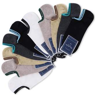 SUMACLIFE No-Show Compression Performance Socks for Arch and Heel Support (10 Pairs) for Men, Women, Nurses, Flight, Travel, Maternity, Diabetic
