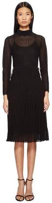 M Missoni Solid Lace Plisse Dress Women's Dress
