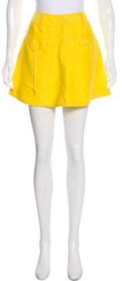 Marc Jacobs A-Line Mini Skirt