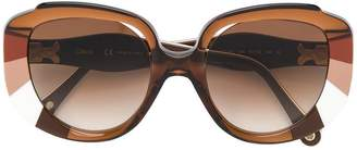 Cat Eye Chloé Eyewear oversized frames