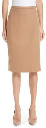 Max Mara Oliveto Camel Hair Skirt